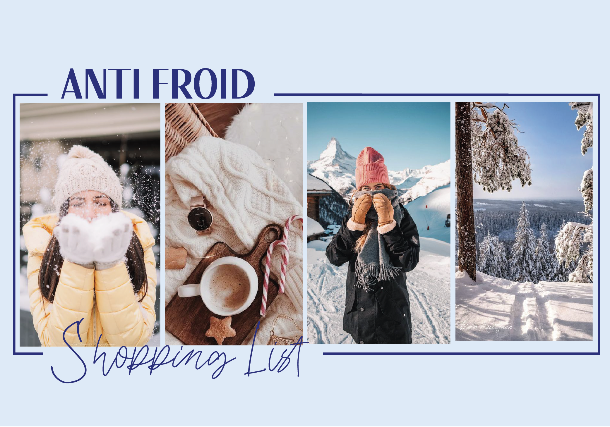 #Shopping List anti-froid