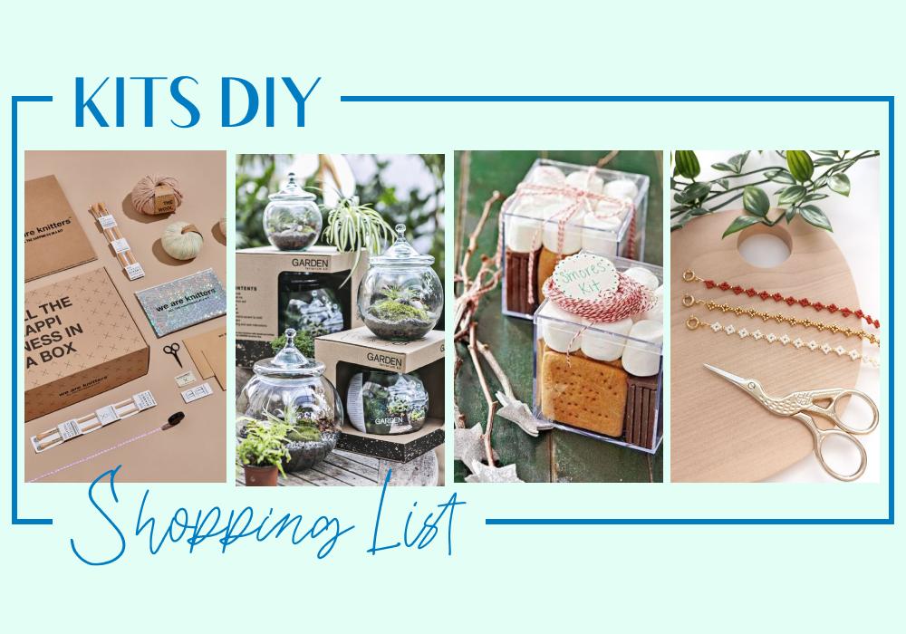 #Shopping List kits DIY