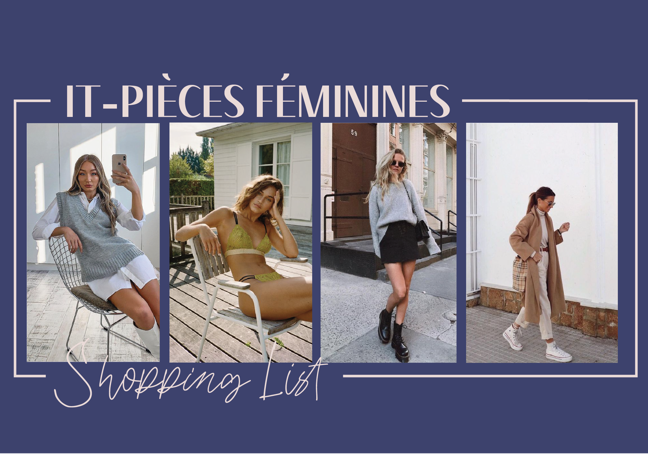 Shopping List it-pièces féminines