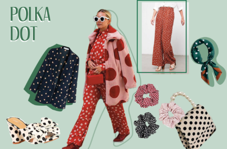 1 tendance 3 looks : le polka dot