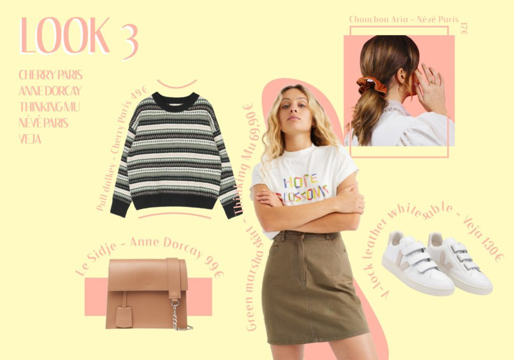 1 tendance 3 looks : back to the 90's