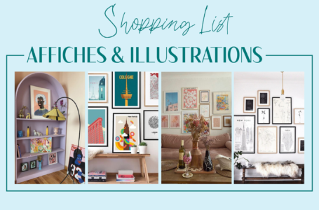 Shopping list affiches et illustrations